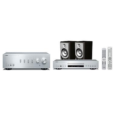 Yamaha A-S300 + CD-S300 Argent + Infinity Primus 150 Noir