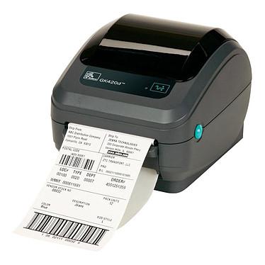 Zebra Technologies GK420d Imprimante thermique avec prédécollage d'étiquettes (USB/Série)