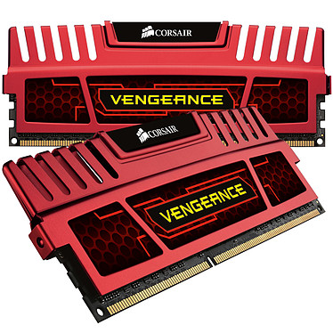 Corsair Vengeance Series 8 Go (2x 4 Go) DDR3 1866 MHz CL9 Rouge