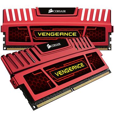 Corsair Vengeance Series 8 Go (2x 4 Go) DDR3 1866 MHz CL9 Rouge Kit Dual Channel RAM DDR3 PC14900 - CMZ8GX3M2A1866C9R (garantie 10 ans par Corsair)