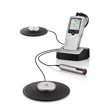 Philips LFH0955 Kit d'enregistrement dictaphone + 4 microphones