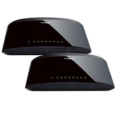 D-Link DES-1008D x2 Pack de 2 switches 8 Ports 10/100 Mbps