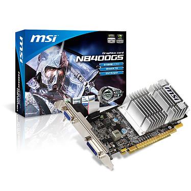 MSI N8400GS-D512D3H/LP 512 Mo DVI - PCI Express (NVIDIA GeForce 8400 GS)