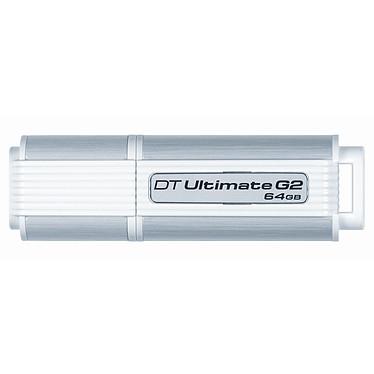 Kingston DataTraveler Ultimate 3.0 G2 64 Go Kingston DataTraveler Ultimate 3.0 G2 64 Go - USB 3.0 (garantie constructeur 5 ans)