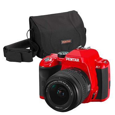 Pentax K-r Rouge + Objectif DA L 18-55mm + Sacoche