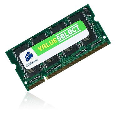 Corsair Value Select SO-DIMM 512 Mo DDR 333 MHz RAM SO-DIMM 512 Mo DDR-SDRAM PC2700 (Garantie 10 ans par Corsair)