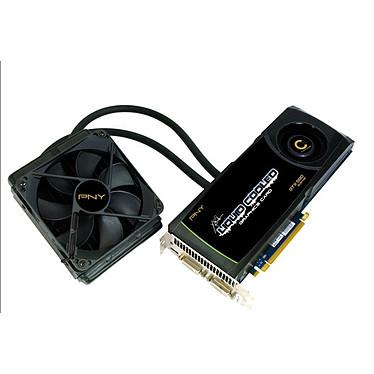 PNY GeForce GTX 580 XLR8 Liquid Cooled 1536 MB 1536 Mo Dual DVI/Mini HDMI - PCI Express (NVIDIA GeForce avec CUDA GTX 580)