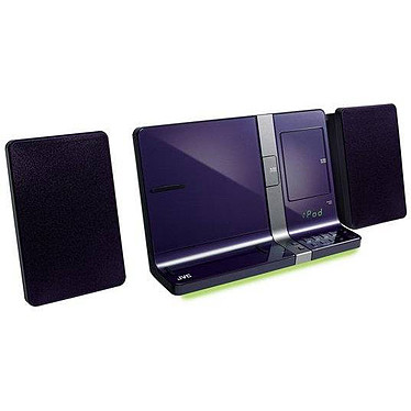 JVC UX-VJ5 Violet Micro chaine CD MP3 USB avec station d'accueil iPod/iPhone/iPad