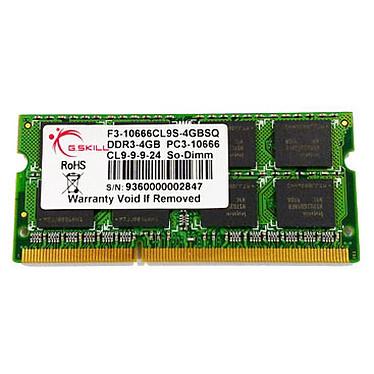 G.Skill SODIMM 4 Go DDR3 1333 MHz