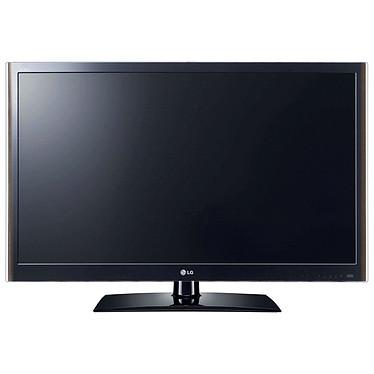 "LG 47LV5500 Téléviseur LED Full HD 47"" (119 cm) 16/9 - 1920 x 1080 pixels - TNT & Câble HD - 100 Hz - Port USB - DLNA - HDTV 1080p"