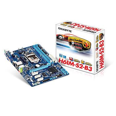 Gigabyte GA-H61M-S2-B3 Carte mère Micro ATX Socket 1155 Intel H61 Express - SATA 3Gb/s - USB 2.0