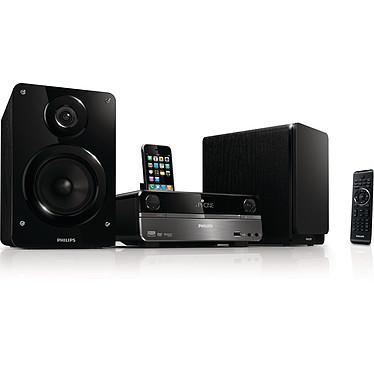 Philips DCD322 Micro chaine DVD/DivX MP3 avec Port USB et Station d'accueil iPod/iPhone