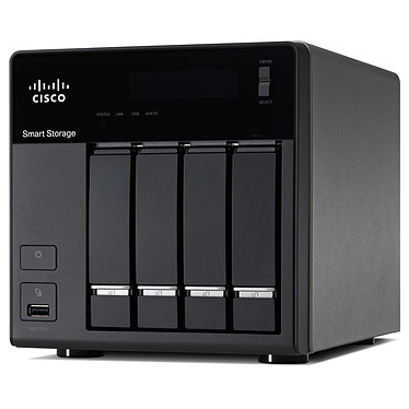 Cisco Small Business NSS 324 4 To (4x 1 To) Serveur NAS 4 baies - 4 To (4x 1 To)