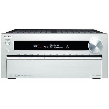 Onkyo TX-NR809 Argent Ampli-tuner Home Cinéma 7.2 THX Select 2 Plus DLNA avec HDMI 1.4 et Décodeurs HD - Traitement vidéo HQV et Qdeo