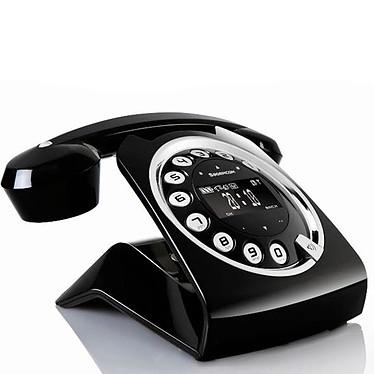 Sagemcom Black Sixty Téléphone sans fil DECT (version française)