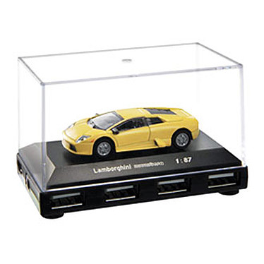 "Hub USB 2.0 ""Automobile de Légende: Lamborghini Murcielago"" (4 ports)"