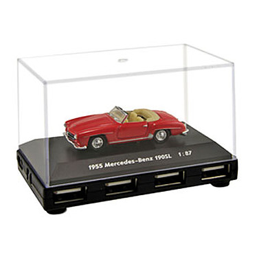"Hub USB 2.0 ""Automobile de Légende: Mercedes-Benz 190SL"" (4 ports)"