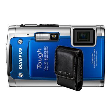 Olympus TG-610 Bleu + Etui Universel