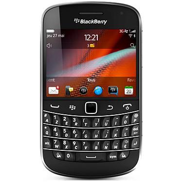 Acheter BlackBerry Bold 9900 Azerty Noir + Leather Pocket