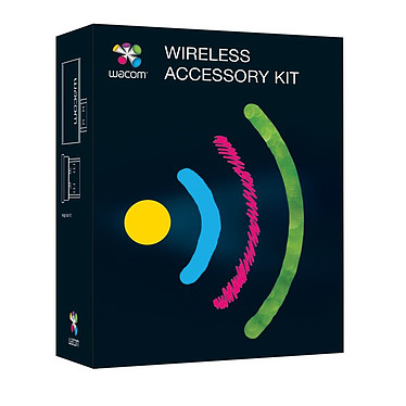 Wacom Bamboo & Intuos 5 Wireless Kit Kit USB sans fil pour tablette Bamboo et Intuos 5 (PC / MAC)