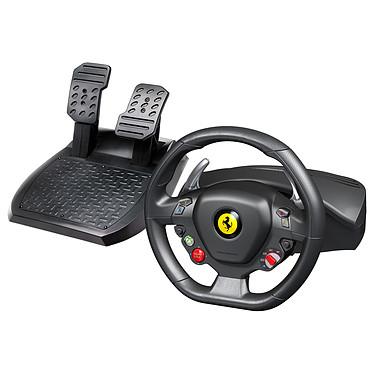 Thrustmaster Ferrari 458 Italia Ensemble de pilotage avec volant et pédalier (compatible PC et Xbox 360)