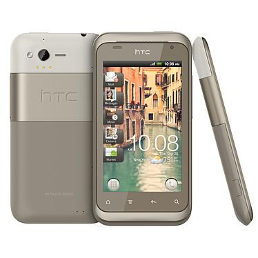 """HTC Rhyme Sable Smartphone 3G+ avec écran tactile 3.7"""" sous Android 2.3"""