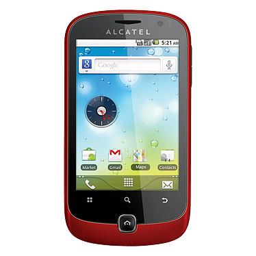 Alcatel OT-990 Rouge