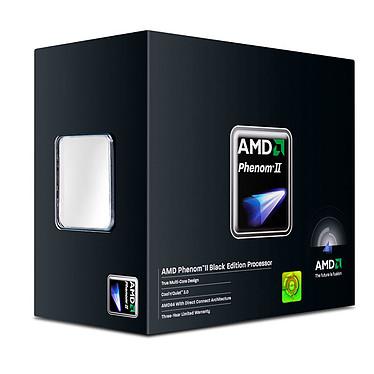 AMD Phenom II X4 975 Black Edition (3.6 GHz) Processeur Quad Core Socket AM3 0.045 micron Cache L2 2 Mo Cache L3 6 Mo - Stepping C3 (version boîte - garantie constructeur 3 ans)
