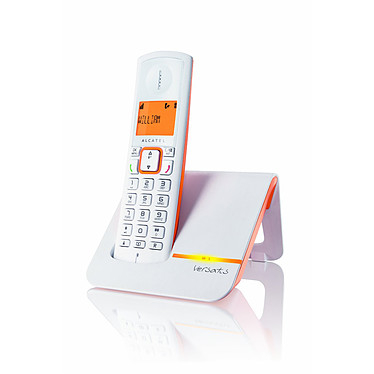 Alcatel Versatis F200 Orange Téléphone DECT sans fil (version française)