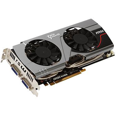 MSI N560GTX-Ti Hawk 1 GB MSI N560GTX-Ti Hawk - 1024 Mo Dual DVI/Mini HDMI - PCI Express (NVIDIA GeForce avec CUDA GTX 560 Ti)