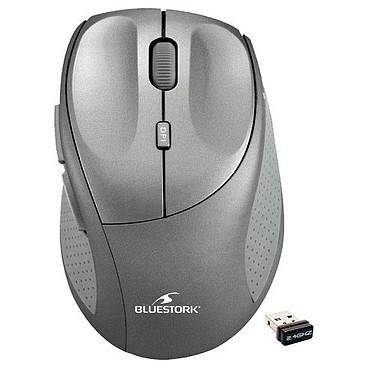 Bluestork Mouse Air  Pro Titane Gris