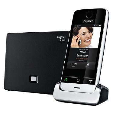 """Gigaset SL910 Téléphone sans fil DECT - Ecran tactile couleurs 3,2"""" (version française)"""