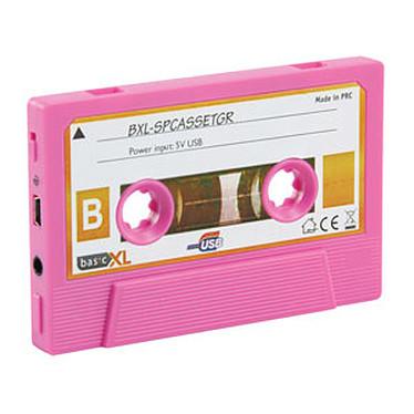 """Avis Haut-parleur portable """"K7 rétro"""" (coloris rose)"""