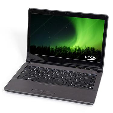 "LDLC Aurore BS1-B8-4-S1-H Intel Celeron B800 2 Go SSD 128 Go 14"" LED Graveur DVD Wi-Fi N/Bluetooth Webcam Windows 7 Premium"