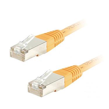 Câble RJ45 catégorie 5e FTP 2 m (Orange)