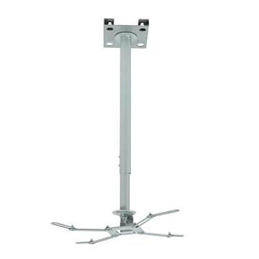 ERARD Pro Support blanc universel 150 cm avec rallonges Support universel plafond blanc avec rallonges emboîtables 150 cm (pour vidéoprojecteur)
