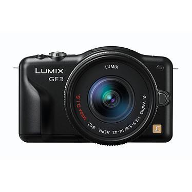 Panasonic Lumix DMC-GF3 Noir avec objectif VARIO 14-42mm pas cher