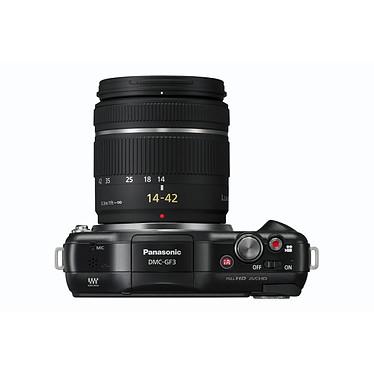 Acheter Panasonic Lumix DMC-GF3 Noir avec objectif VARIO 14-42mm