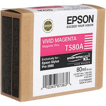 Epson T580A Cartouche d'encre magenta