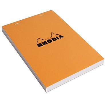 Bloc audit Rhodia 80 feuillets jaunes 80g Bloc audit Rhodia 80 feuillets jaunes 80g