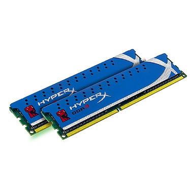 Kingston HyperX Genesis 8 Go (2x 4Go) DDR3 1866 MHz Kit Dual Channel RAM DDR3 PC-14900 CL9 - KHX1866C9D3K2/8G (garantie 10 ans par Kingston)