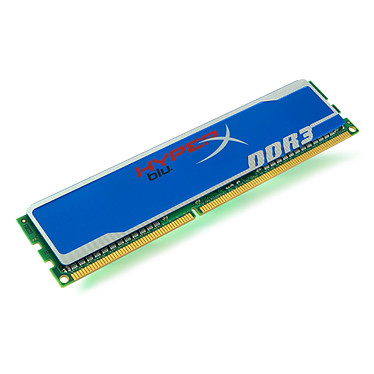 Kingston HyperX blu 4 Go DDR3 1600 MHz CL9 RAM DDR3 PC12800 CL9 - KHX1600C9D3B1/4G (garantie 10 ans par Kingston)