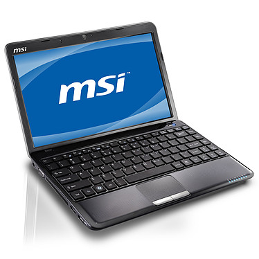 "MSI Wind U270-208 AMD Double-Coeur E-450 2 Go 320 Go 11.6"" LED Wi-Fi N/Bluetooth Webcam Windows 7 Premium 64 bits (garantie constructeur 2 ans)"