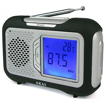 Akai AR-21 Noir Radio Reveil AM/FM