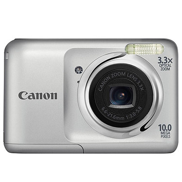 Canon Powershot A800 Argent Appareil photo 10 MP - Zoom 3.3x