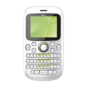 Wiko Minz Blanc Téléphone 2G avec clavier complet et 2 ports pour cartes SIM