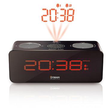 Oregon Scientific RRA320P Radio réveil avec projection de l'heure