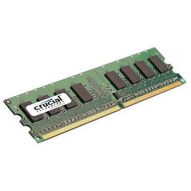 Crucial 2 Go DDR2 667 MHz CL5 RAM DDR2 PC5300 - CT25664AA667 ((garantie à vie par Crucial)