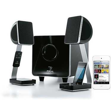 Focal XS + Apple iPod Touch Blanc 8 Go