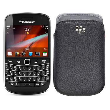 BlackBerry Bold 9900 Azerty Noir + Leather Pocket